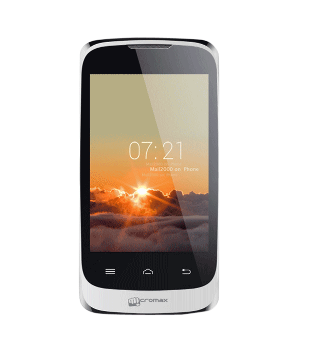 Micromax ( 4GB and Below , ) Silver