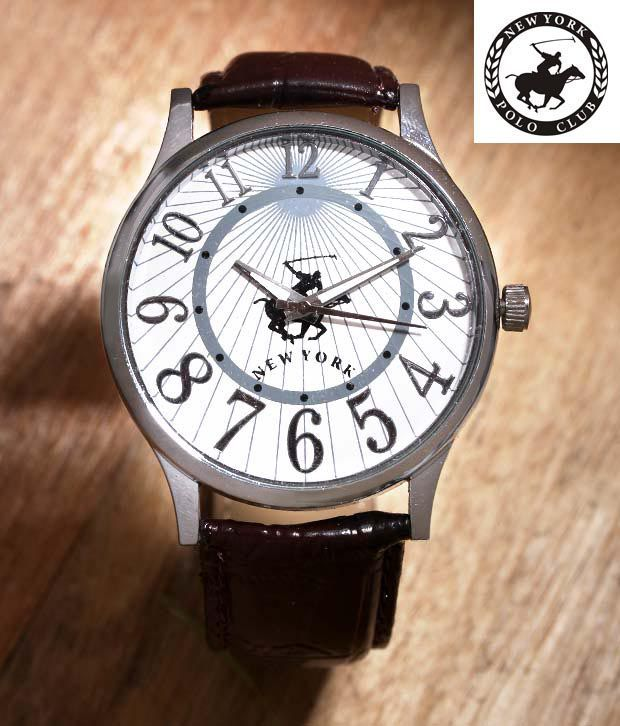 NYPC Glossy Designer Dial Watch