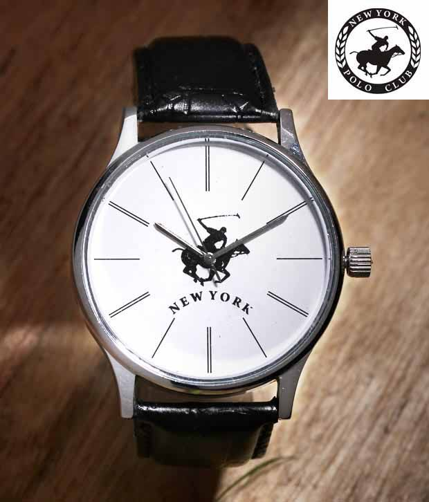 NYPC Trendy White Dial Watch