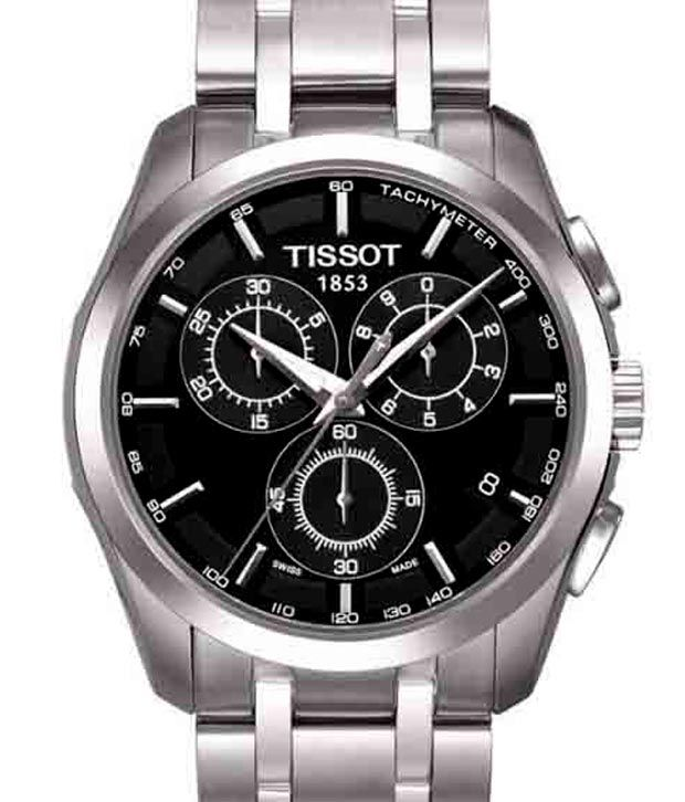 Tissot Couturier Black Sub Dials Men's Watch Snapdeal price. Watches Deals at Snapdeal. Tissot ...