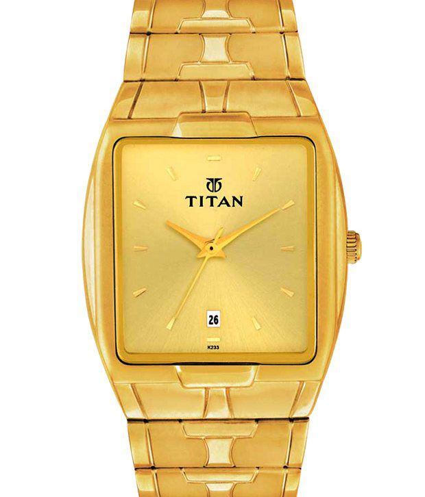 7ff301450 Titan Karishma ND9153YM03A Men s Watches - Buy Titan Karishma ND9153YM03A Men s  Watches Online at Best Prices in India on Snapdeal