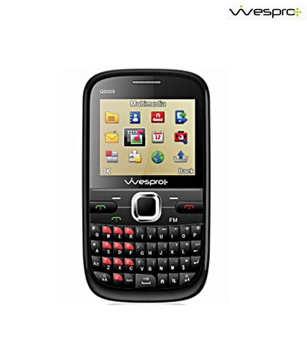 Wespro Dual SIM Qwerty Mobile-Q5000