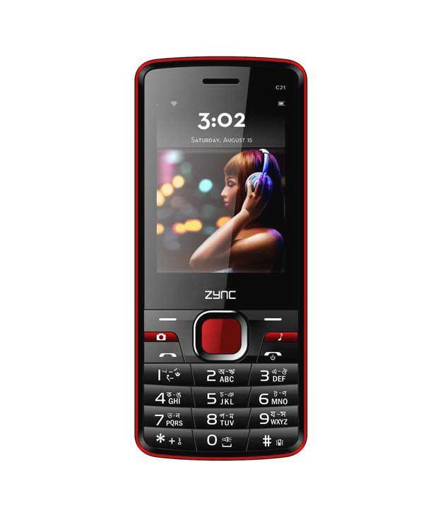 Zync C21 (Black-Red)