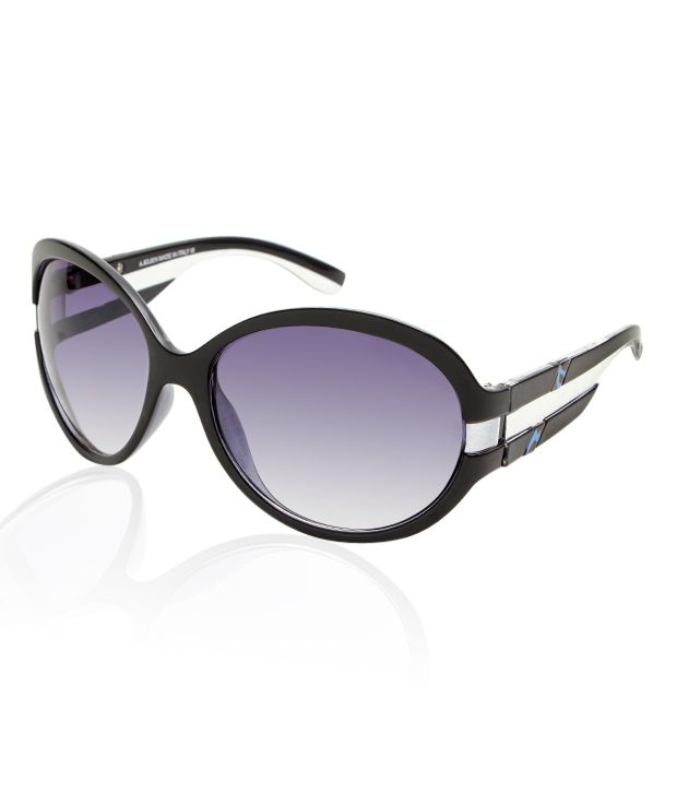 A.Klein Sleek Black Frame Sunglasses