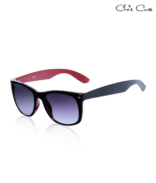 Chris Cross Red-Within Wayfarer Sunglasses