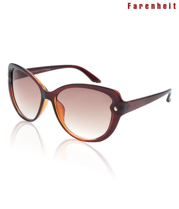 Farenheit Chic Brown Sunglasses
