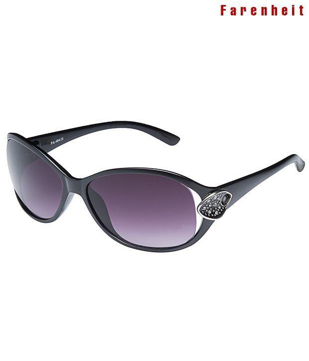 Farenheit Trendy Mauve Lens Sunglasses