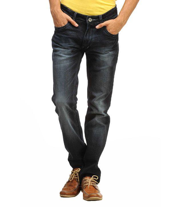 Gesture Blue Slim  Fit Jeans
