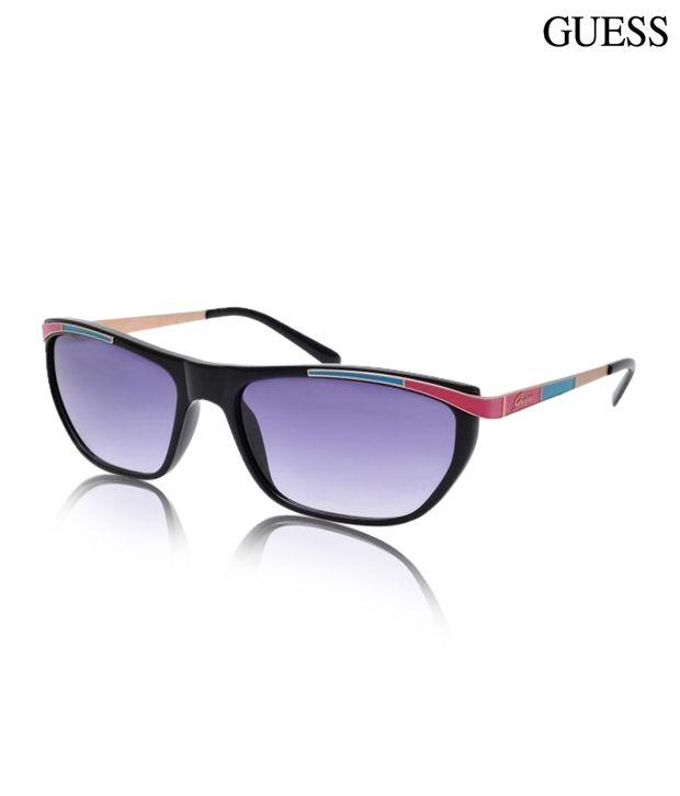 Guess Playful Purple Sunglasses