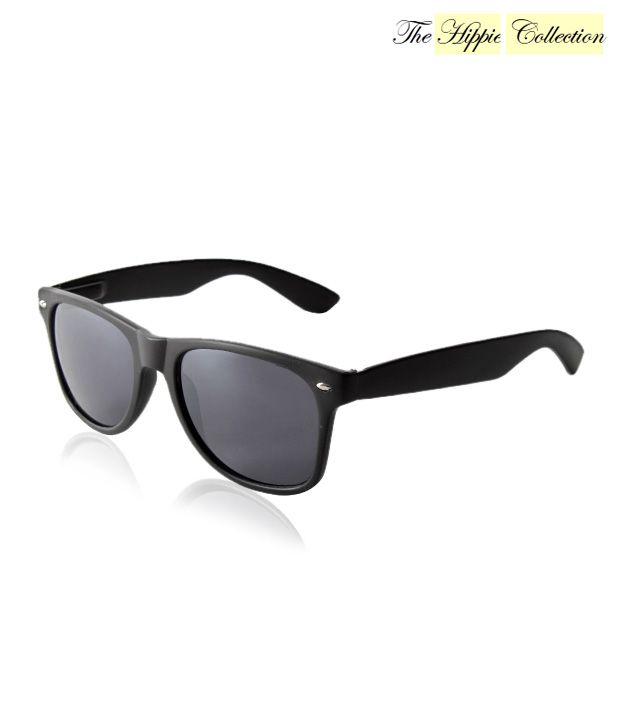 Hippie Collection Enthralling Black Wayfarer Sunglasses