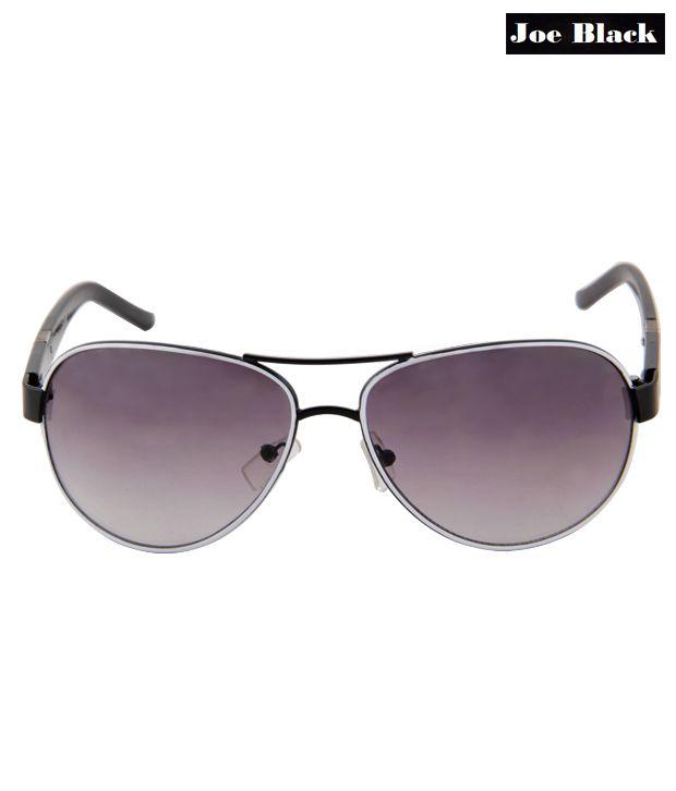 Joe Black's White Rim Aviator Sunglasses