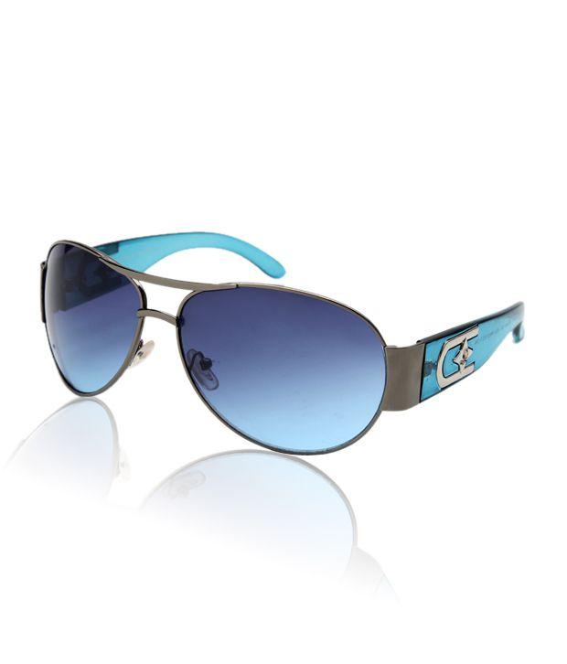 SD Alluring Blue Lens Sunglasses