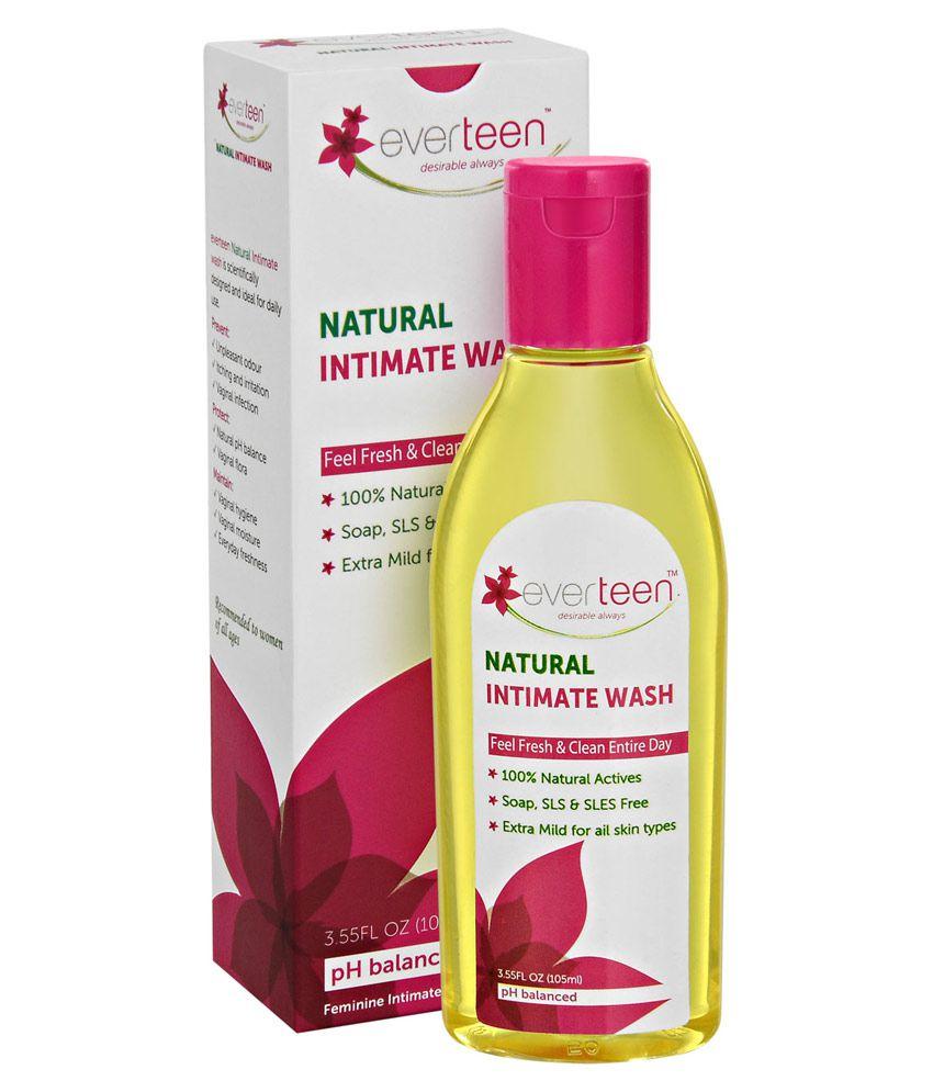 Everteen Feminine Hygiene Wash Intimate Cleansing Liquid Lavender 105 ml
