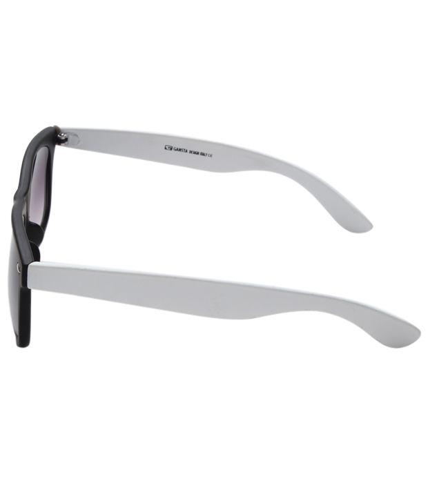 black and gold aviator sunglasses  royal fredrick blueatr white wfr w Black/Blue Aviator/Oval ...