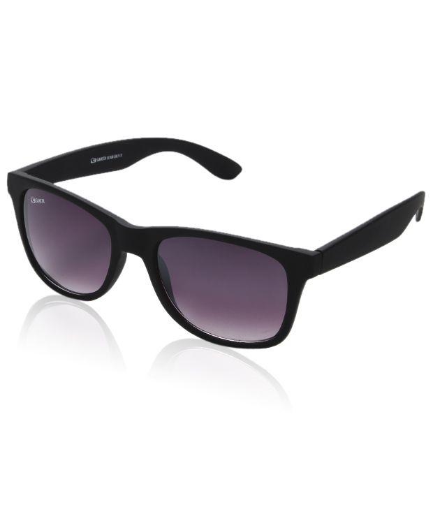 wayfarer sunglasses cheap hstm  Gansta Classic Black Wayfarer Sunglasses