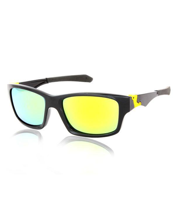 Joe Black Limited Edition Black Square Frame Sunglasses
