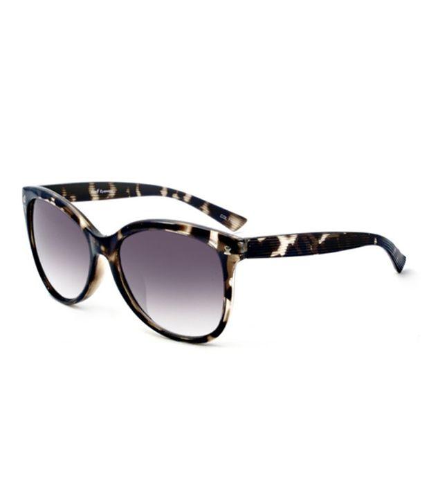 MacV Eyewear 8077 Black Gradient Animal Print Sunglasses