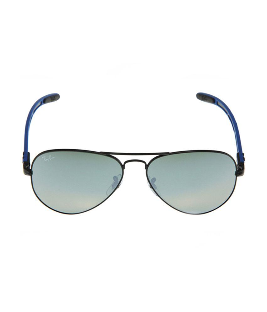 ae4a064685e ... closeout ray ban rb8307 006 40 9990 women carbon aviator sunglasses  95297 69236