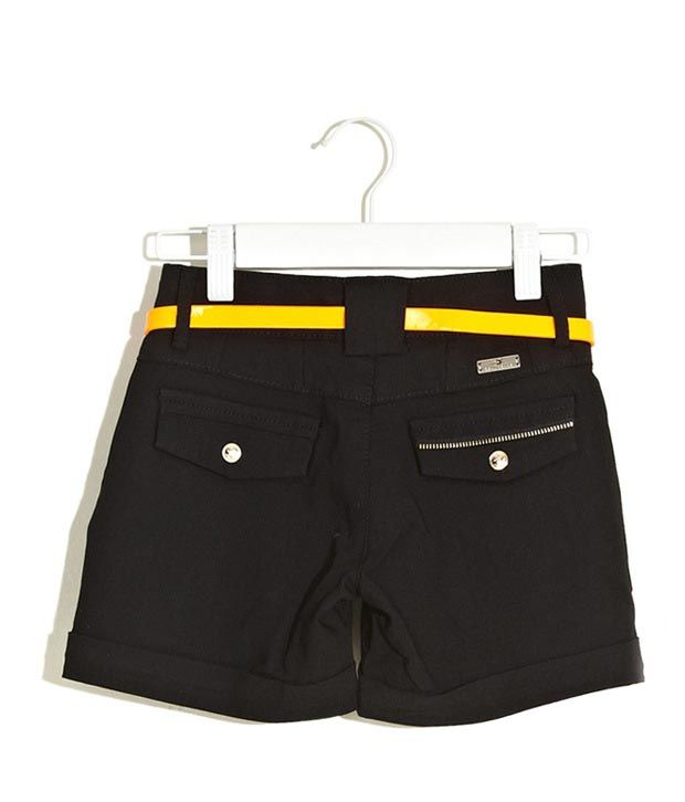Deal Jeans Kids Black Shorts For Boys