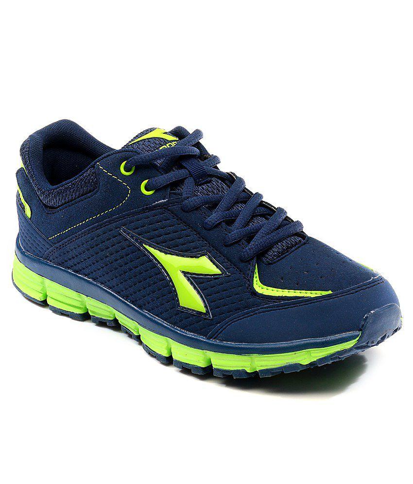 dcf5792520 Diadora Navy Sport Shoes