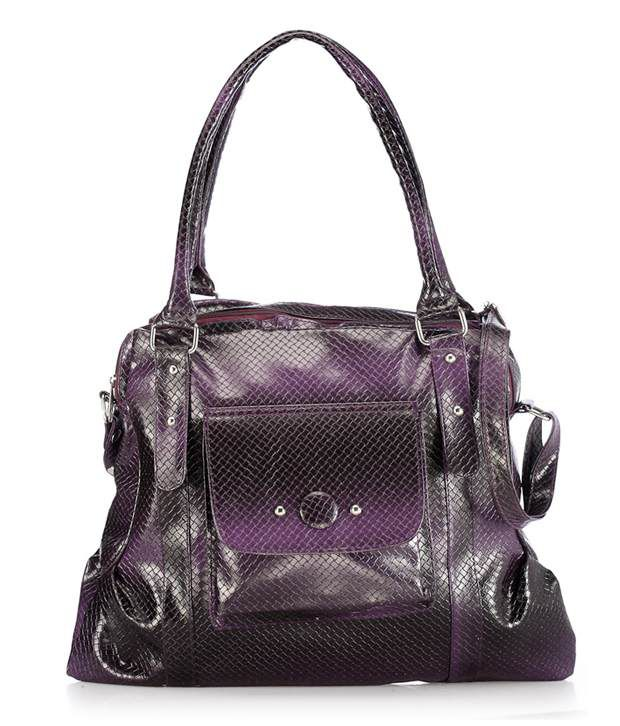Nell H1039 PURPLE Satchel Bags