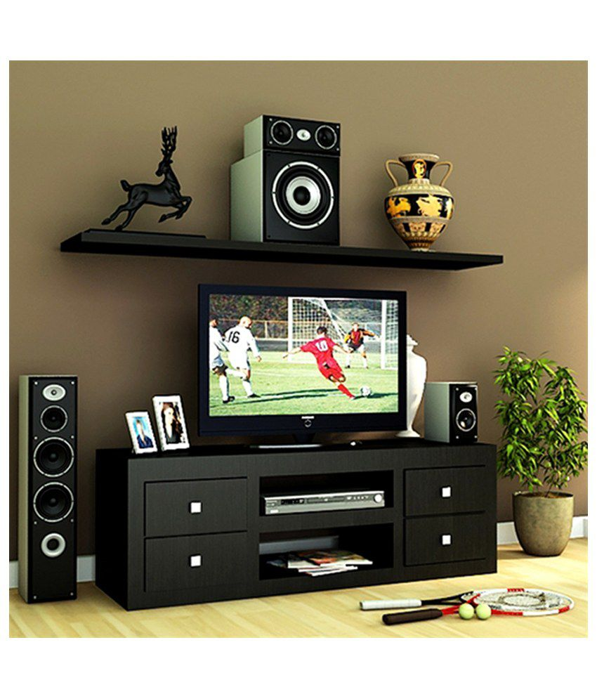 Housefull Charles TV Unit in Wenge Finish