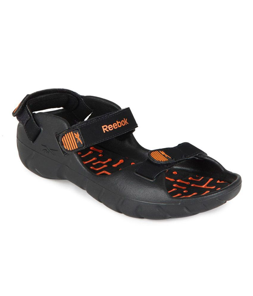 c0a1b0ac0741 Reebok Black Sandals - Buy Reebok Black Sandals Online at Best Prices in  India on Snapdeal