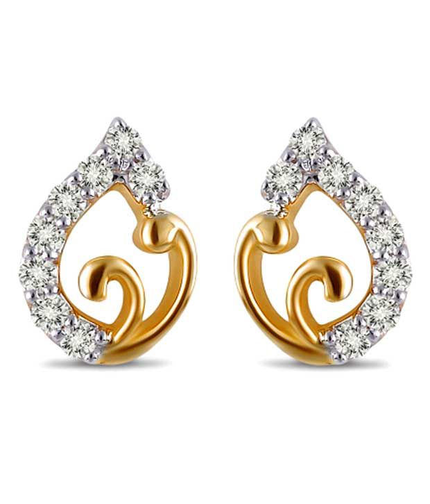 c6c651f52 Sanskruti Diamond Glam Daily Wear Studs: Buy Sanskruti Diamond Glam Daily  Wear Studs Online in India on Snapdeal