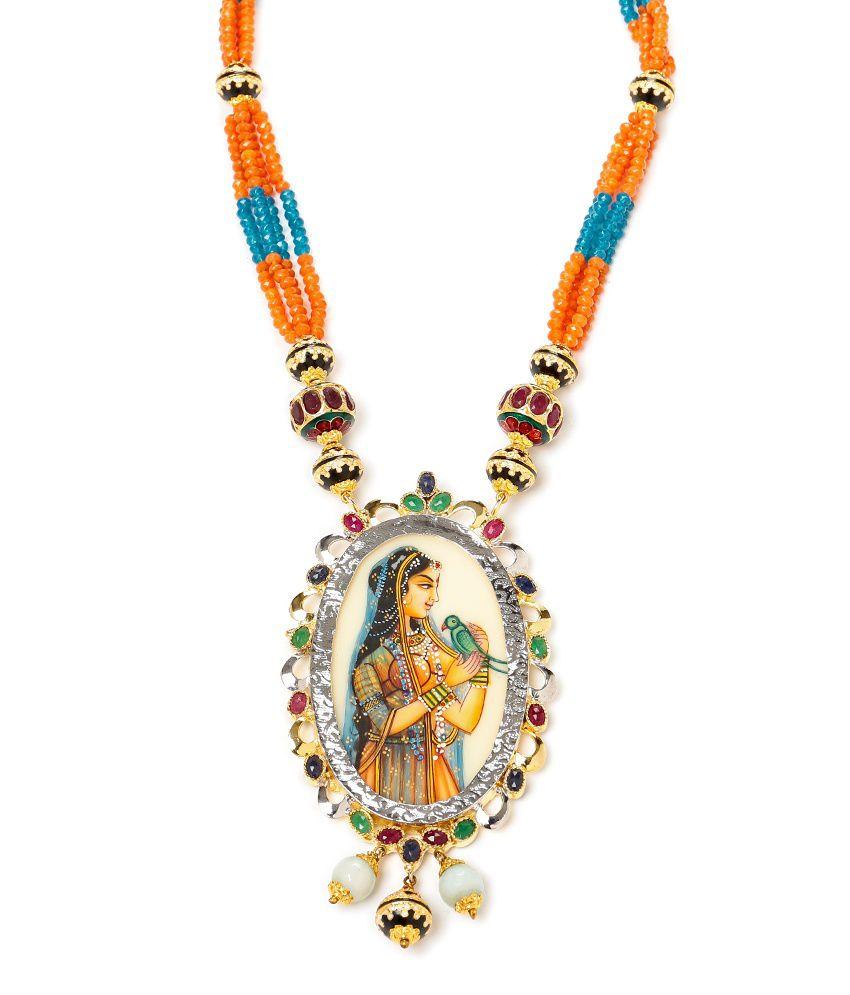 Akshim Pretty Traditional Necklace AK_173
