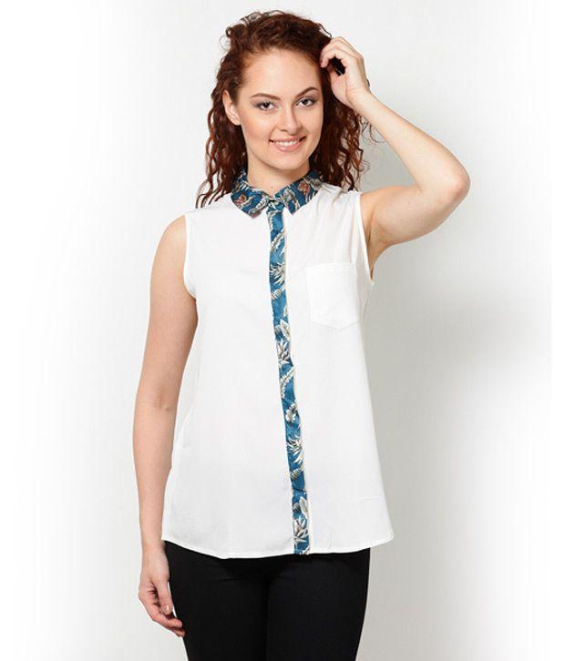 Besiva Black Poly Cotton Shirts