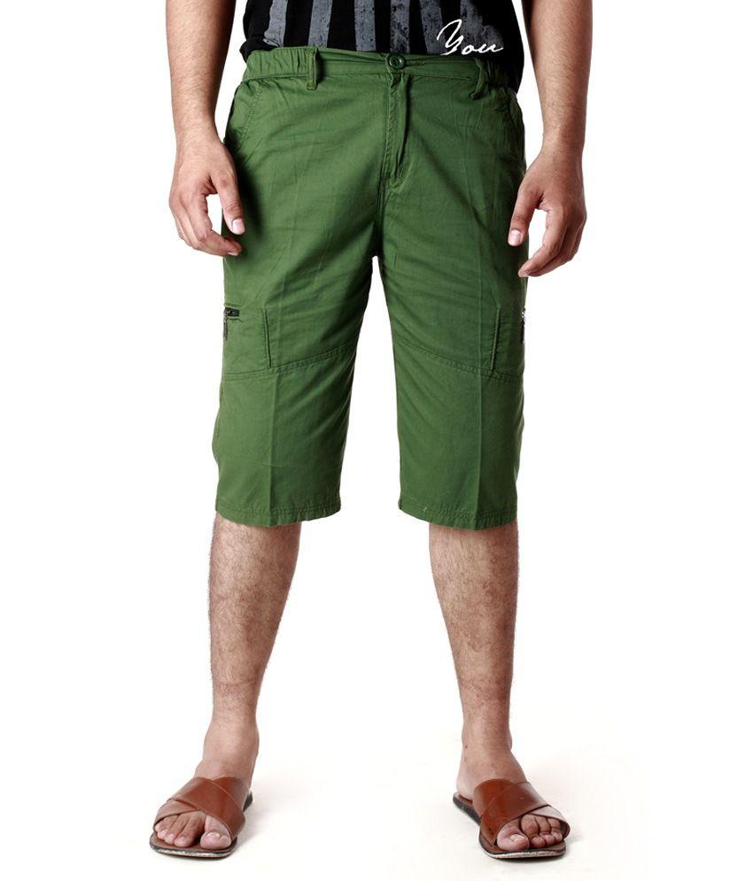 Abony Cargo Short Green