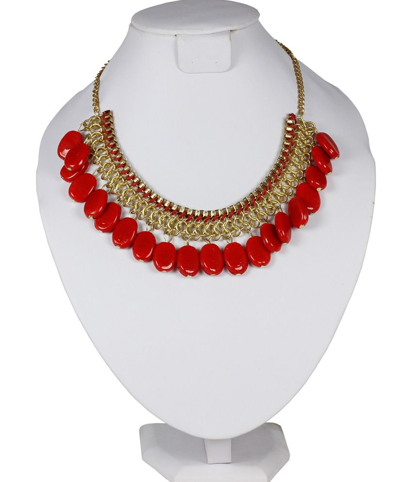 Uptown Beautiful Red Necklace