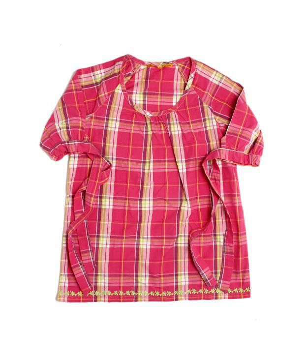 Under Fourteen Only Deep Pink Top For Infant Girls