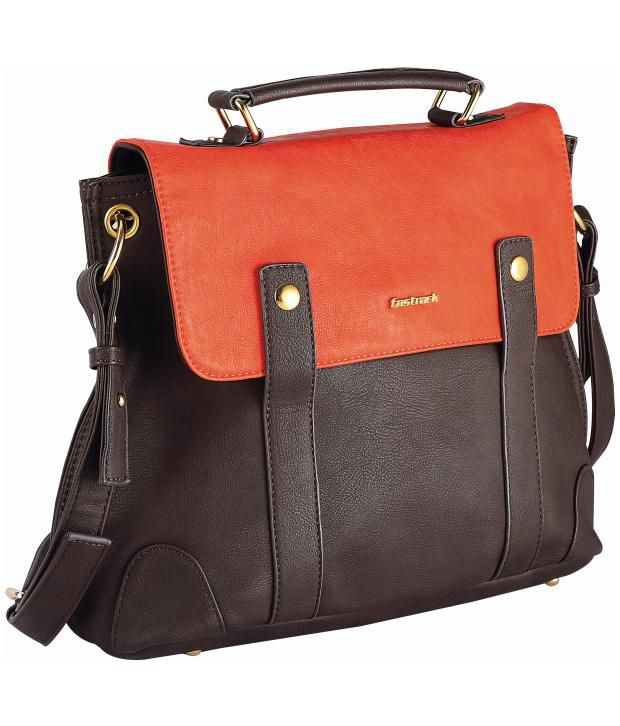 Fastrack A0425PBR01 Brown Cross Body Sling Bag - Buy Fastrack A0425PBR01  Brown Cross Body Sling Bag Online at Best Prices in India on Snapdeal 44c28ec553ba0