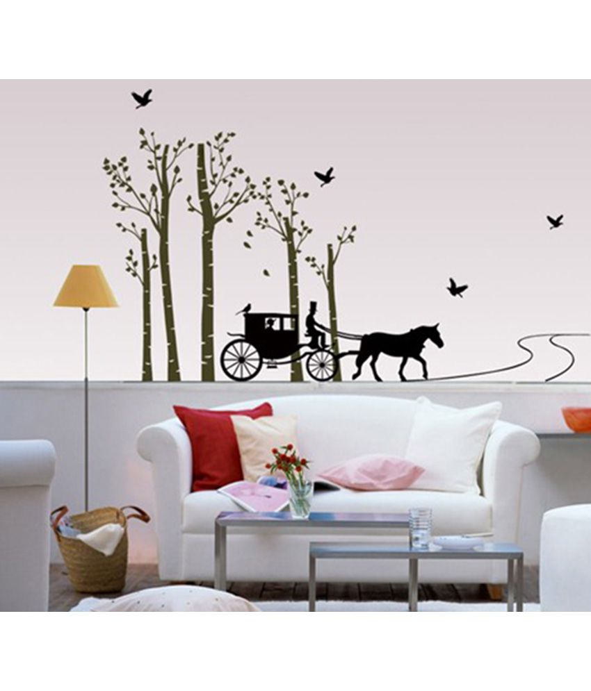 Blik factory price blik factory price green vinyl wall stickers best price in india on 26th - Blik wall stickers ...