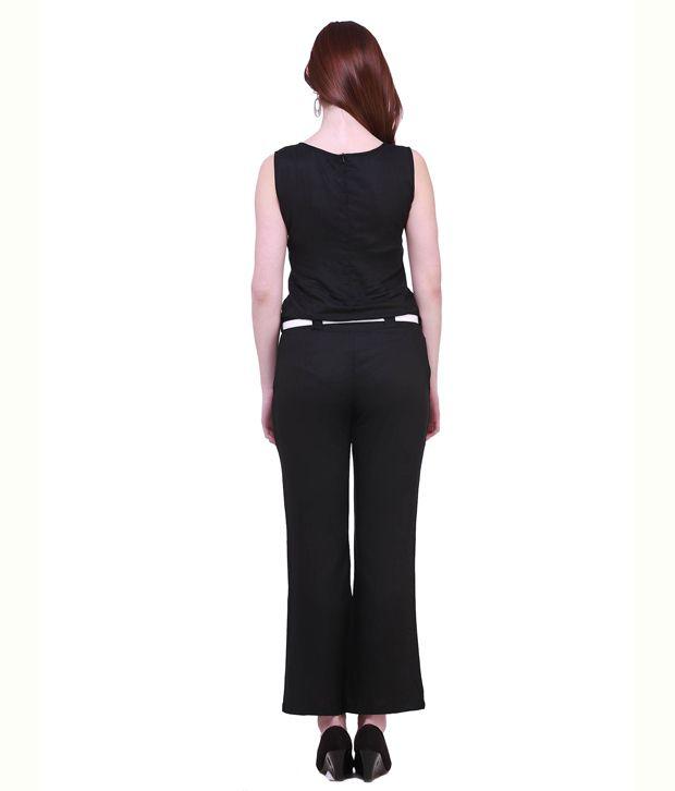 Cottinfab black rayon dress