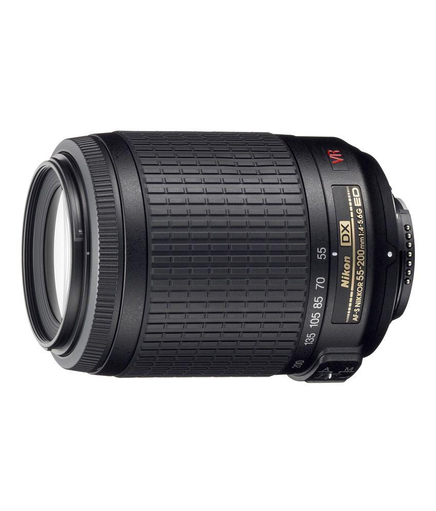 Nikon 55-200 mm f/4-5.6G ED DX  AF-S DX Lens