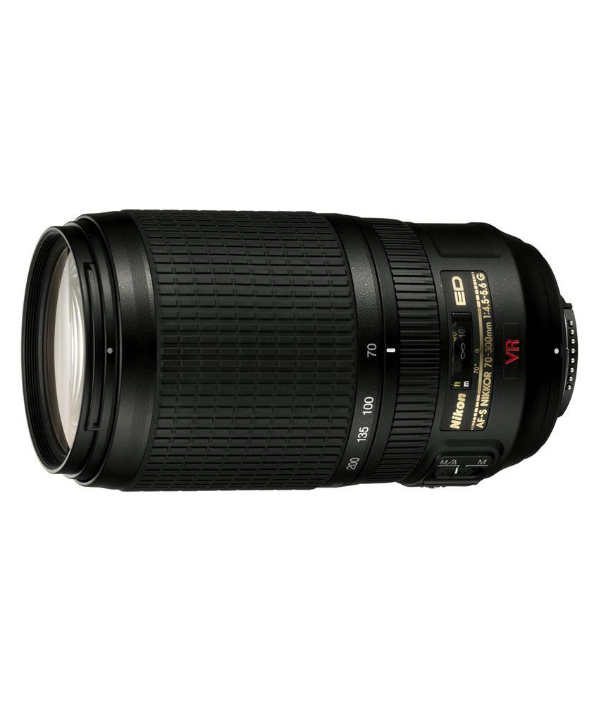Nikon AF-S VR Zoom-Nikkor 70-300  mm f/4.5-5.6G IF-ED (4.3x)  Lens