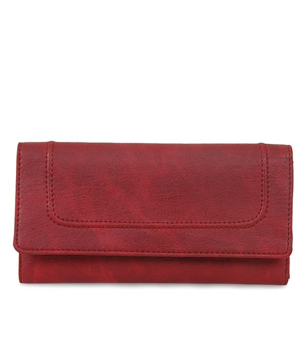 Baggit 2177920474131 W KATE WAN RED Wallet