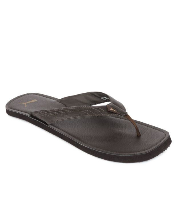 Puma Brown Slippers Price in India- Buy Puma Brown Slippers Online at  Snapdeal 059a71b78d