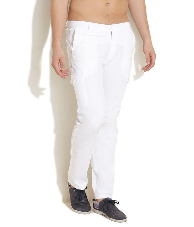 Wills Lifestyle White Slim Casuals Flat