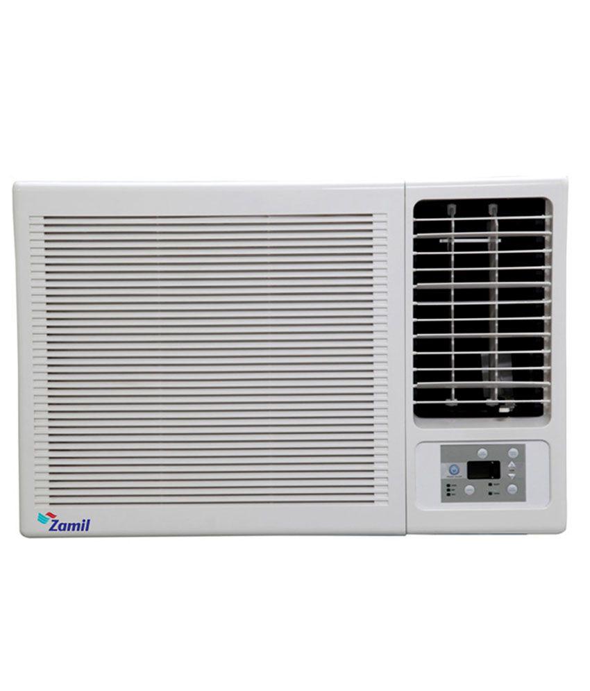 Zamil 1 1 5 ton 2 star window air conditioner white price for 2 ton window ac 5 star