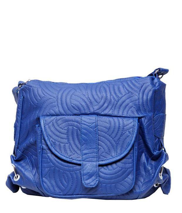Borse G6 Blue Sling Bags
