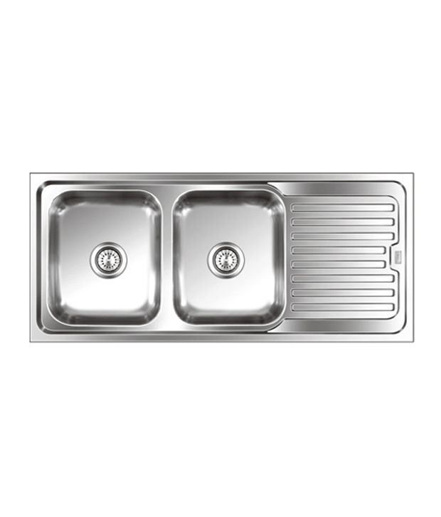 buy nirali kitchen sink double bowl graceful elegance mini anti rh snapdeal com