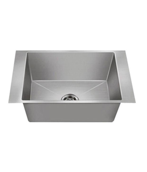 Buy Nirali Kitchen Sink Single Bowl Maxus Small Satin