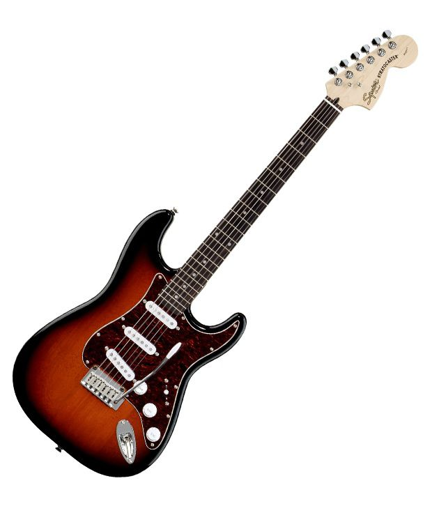 401b7b6a0ee Buy Squier Standard Stratocaster, Rosewood Fingerboard, Antique Burst &  Freebie: Guitar Carry Case. Online at Best Prices in India on Snapdeal