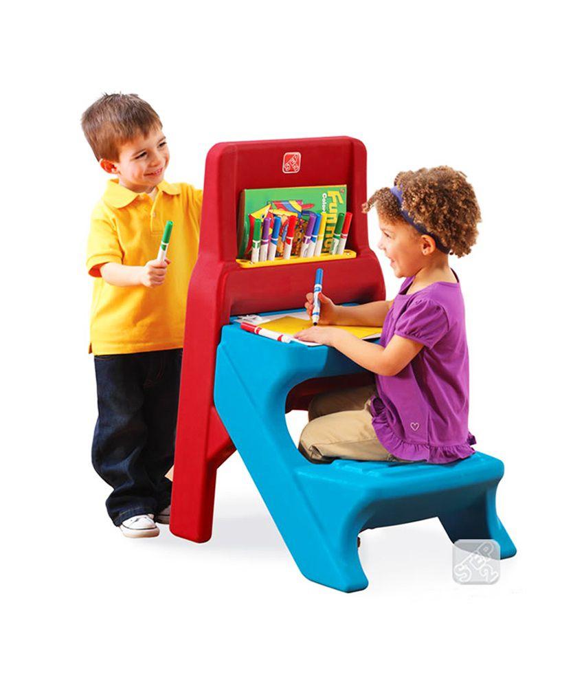 Step 2 Art Easel Desk Kids Furniture Buy Step 2 Art