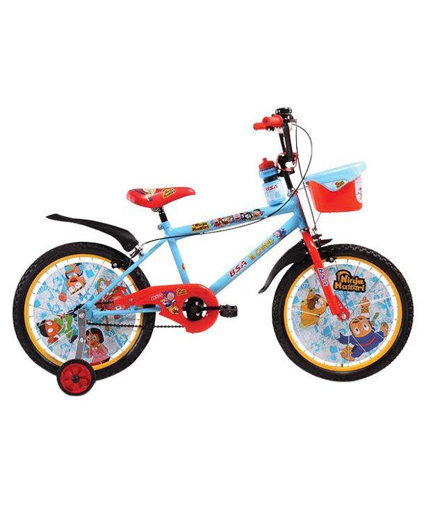 Bsa Champ Ninja Hattori Bicycle With Free Backpack Amp Water