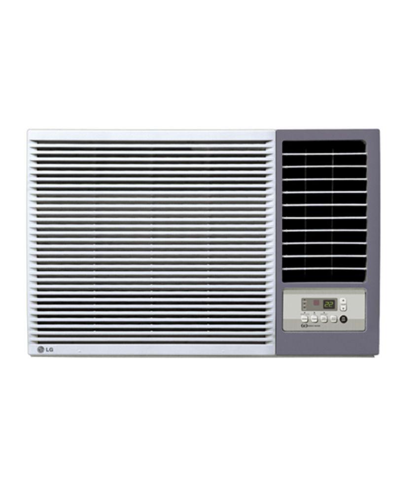 Lg 1 5 ton 3 star lwa5cs3f window air conditioner white for 1 5 window ac