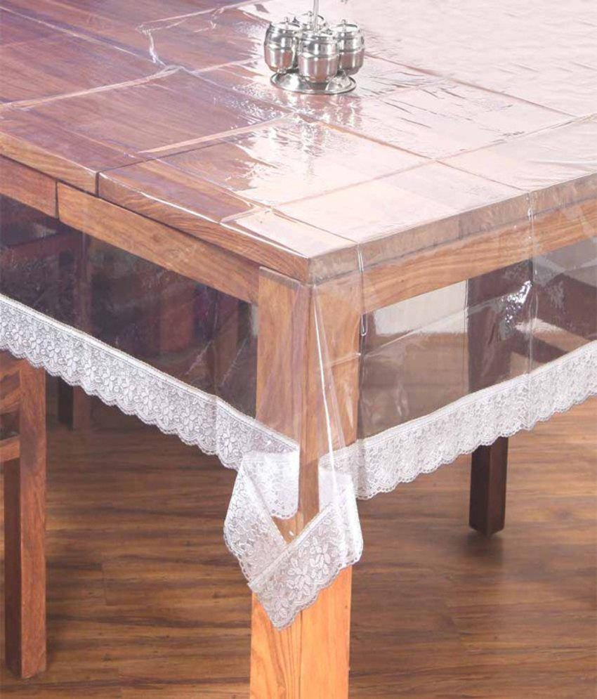 Mynest Home Transparent PVC Table Cover